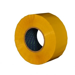E-Tape™ no-noise yellow packaging tape 48mm x 150m