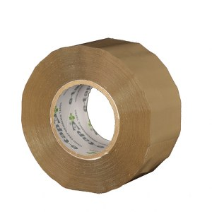 E-Tape™+ Buff Packaging Tape 48mm x 150m Pack 36