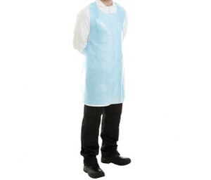Protect™ LDPE Disposable Apron 690mm x 1070mm Blue Pack 1000