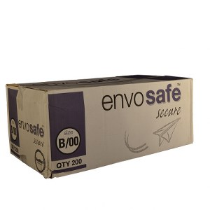 Envosafe Secure™ High Performance Postal Bag 140mm x 225mm Oyster Size B Pack 200