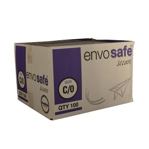 Envosafe Secure™ High Performance Postal Bag 170mm x 225mm Oyster Size C Pack 100