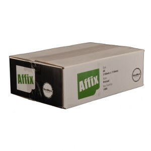 Affix™ Document Enclosed A6 Printed 160mm x 110mm Pack 1000